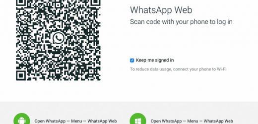 WhatsApp artık masaüstünde!