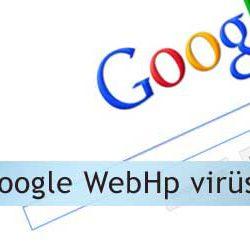 Google webhp virüsü