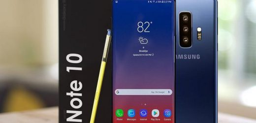 Galaxy Note 10'un en dikkat çeken özelliği ekranı!